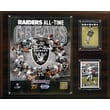 C & I Collectibles NFL All -Time Great Photo Plaque; Oakland Raiders