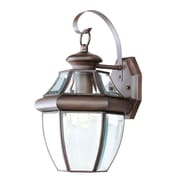 Livex Lighting Monterey 1 Light Outdoor Wall Lantern; Imperial Bronze