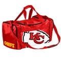 Forever Collectibles NFL 11'' Travel Duffel; Kansas City Chiefs