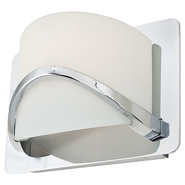 DVI Solstice 1-Light Wall Sconce; Chrome
