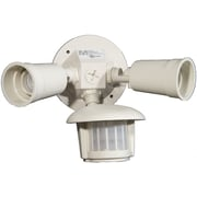 MorrisProducts Motion Activated Twin Par Light; White