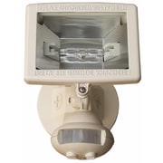 Morris Products Motion Activated Lights 1-Light Outdoor Floodlight; White