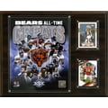 C & I Collectibles NFL All -Time Great Photo Plaque; Chicago Bears