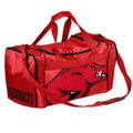 Forever Collectibles NCAA 11'' Travel Duffel; University of Arkansas Razorbacks