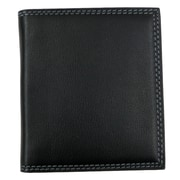 Style N Craft Credit / Business Card Case in Soft High Grade Cow Leather; Black