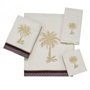 Avanti Linens Oasis Palm 4 Piece Towel Set