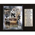 C & I Collectibles NFL Career Stat Plaque; Chicago Bears - Walter Payton