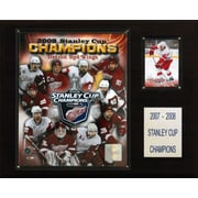 C & I Collectibles NHL Red Wings 2007-08 Stanley Cup Champions Plaque