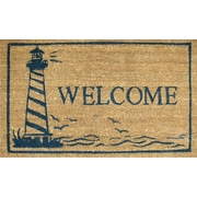 Home & More Lighthouse Doormat