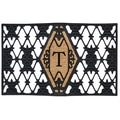 Home & More Monogram Doormat; T