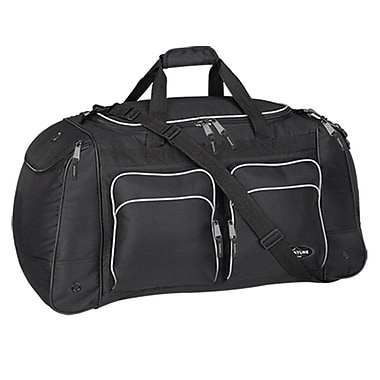 Travelers Polo & Racquet Club Adventurer 28'' Travel Duffel; Black