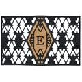 Home & More Monogram Doormat; E