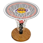 Spalding NBA Table with Decal; Los Angeles Lakers