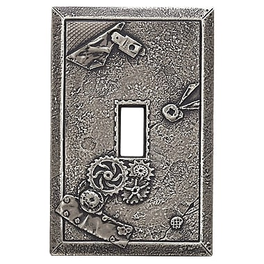 RQ Home Deco Boiler Room Magnetic Single Toggle Wall Plate