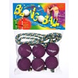 Blongo Family Fun Soft Ball Game Set; Purple
