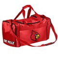 Forever Collectibles NCAA 11'' Travel Duffel; Louisville Cardinals