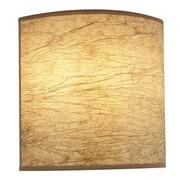 Hart Lighting 2 Light Speed Square Wall Bracket; Maduro Paper