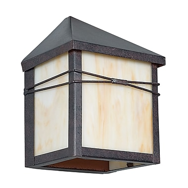 Sunset Lighting Mission 1-Light Outdoor Flush Mount
