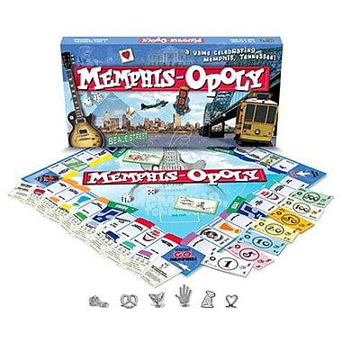 Late for the Sky Memphis-Opoly Board Game