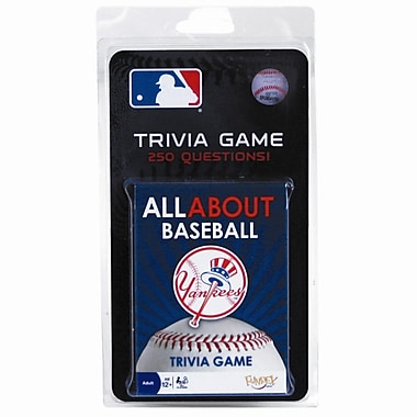 Fundex Games MLB All About Baseball Trivia Card Game; New York Yankees