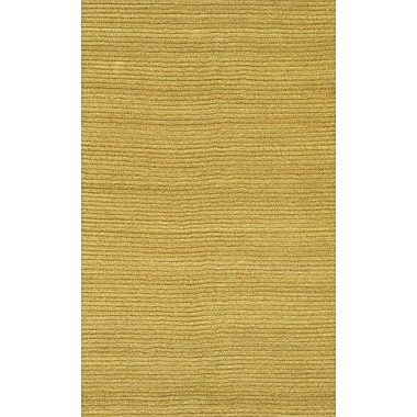 Chandra Art Yellow Area Rug; 2' x 3'
