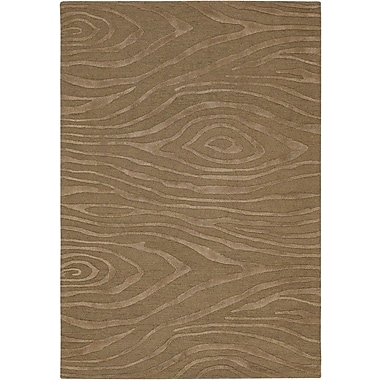 Chandra Cosma Brown Area Rug; 2' x 3'