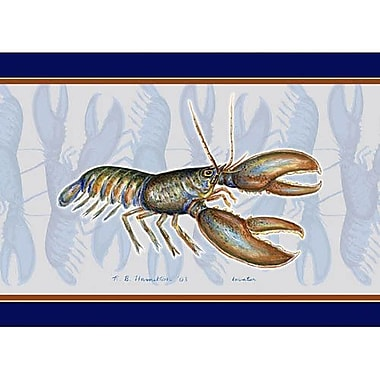 Betsy Drake Interiors Lobster Placemate (Set of 4)