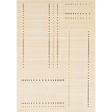 Chandra Rita Natural Area Rug; 3'11'' x 5'7''