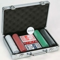 CHH 200 Piece 11.5g Poker Set with Aluminum Case; Suited Chips