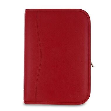rooCASE Executive Portfolio Leather Case Cover for Nexus 10; Red