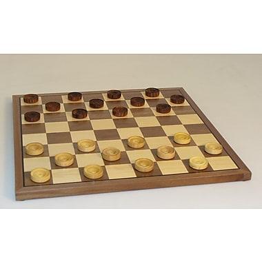 Chopra 12'' Wood Checker Set