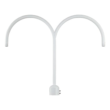 Millennium Lighting R Series Double Post Adapter; White