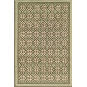Duracord Sawgrass Mills Estate Green Indoor/Outdoor Rug; 8' x 10'