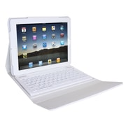 Ovente Beatech KPC1B iPad case with Bluetooth Keyboard ; White