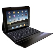 Ovente Beatech KPC1B iPad case with Bluetooth Keyboard ; Black