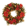 National Tree Co. Pre-Lit 36'' Home Spun Wreath