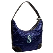 Little Earth MLB Quilted Hobo Bag; Seattle Mariners