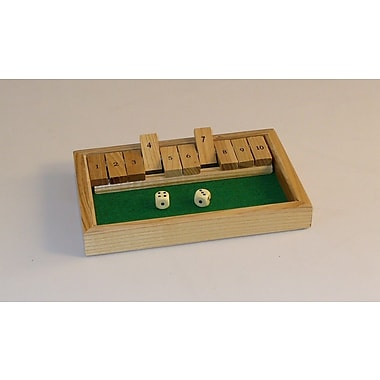 Square Root Games Shut the Box Game