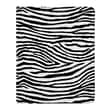 Sumdex Apple iPad 3rd Generation Animal Print Leatherette Stand Folio; Zebra