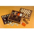 Drueke Drueke Ultimate Game Box with Backgammon; Black
