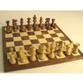 WorldWise Chess Small Sheesham French Chess Set