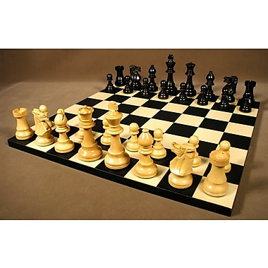 WorldWise Chess Small Black French Chess Set