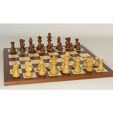WorldWise Chess Small Sheesham French-Sapele Chess Set