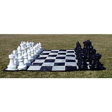 CN Chess Garden Chessmen on Mat