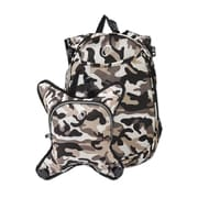 Obersee O3 Munich Camoflage School Backpack with Detachable Lunch Cooler