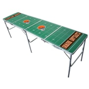 Tailgate Toss NFL Tailgate Table; Cleveland Browns
