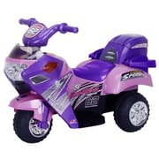 Best Ride On Cars Super Power 6V Battery Powered Motorcycle; Pink