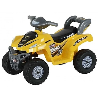 Best Ride On Cars Lil Kids Ride On 6V Battery Powered ATV; Yellow