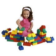 edushape Mini Edu Blocks Toy Set; 52 Piece Set