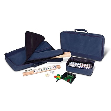 Sunnywood Mah Jongg Set in Soft Sided Case; Navy